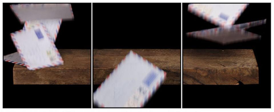 Joachim Froese: Written in the past 11 2007 3 archival pigment inkjet prints 45 x 115 cm Ed. 6/12