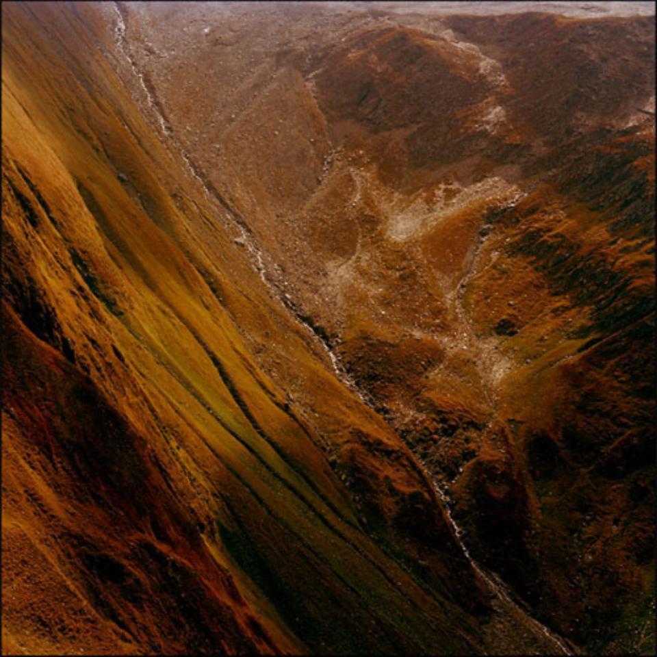 Mat Hennek: CH Furkapass VI Furkapass, 2009 Labeled on verso Archival pigment print on alu dibond Ed. 1/3