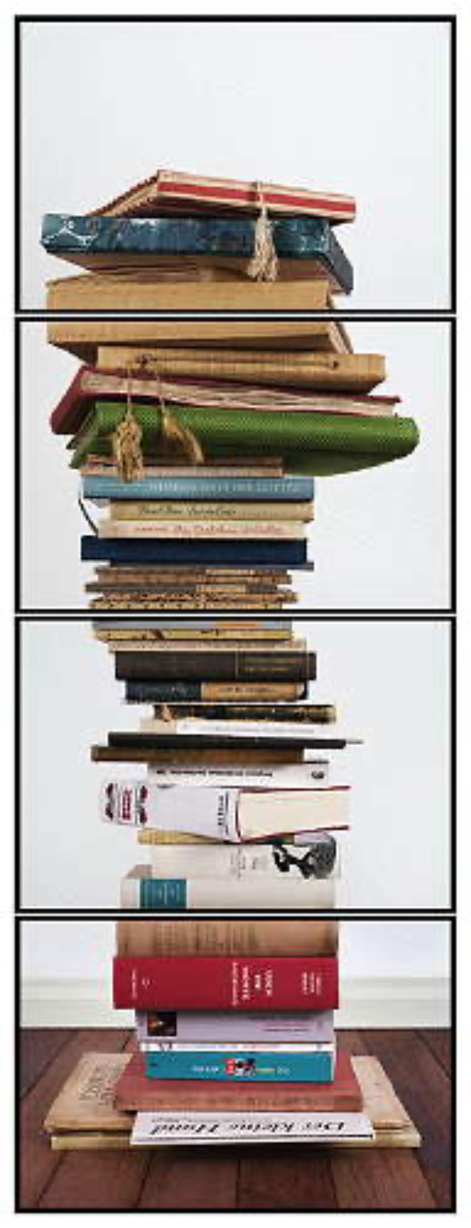 Joachim Froese: Critical Mass #5 2008 4 archival pigment inkjet prints 124 x 46 cm Ed. 12