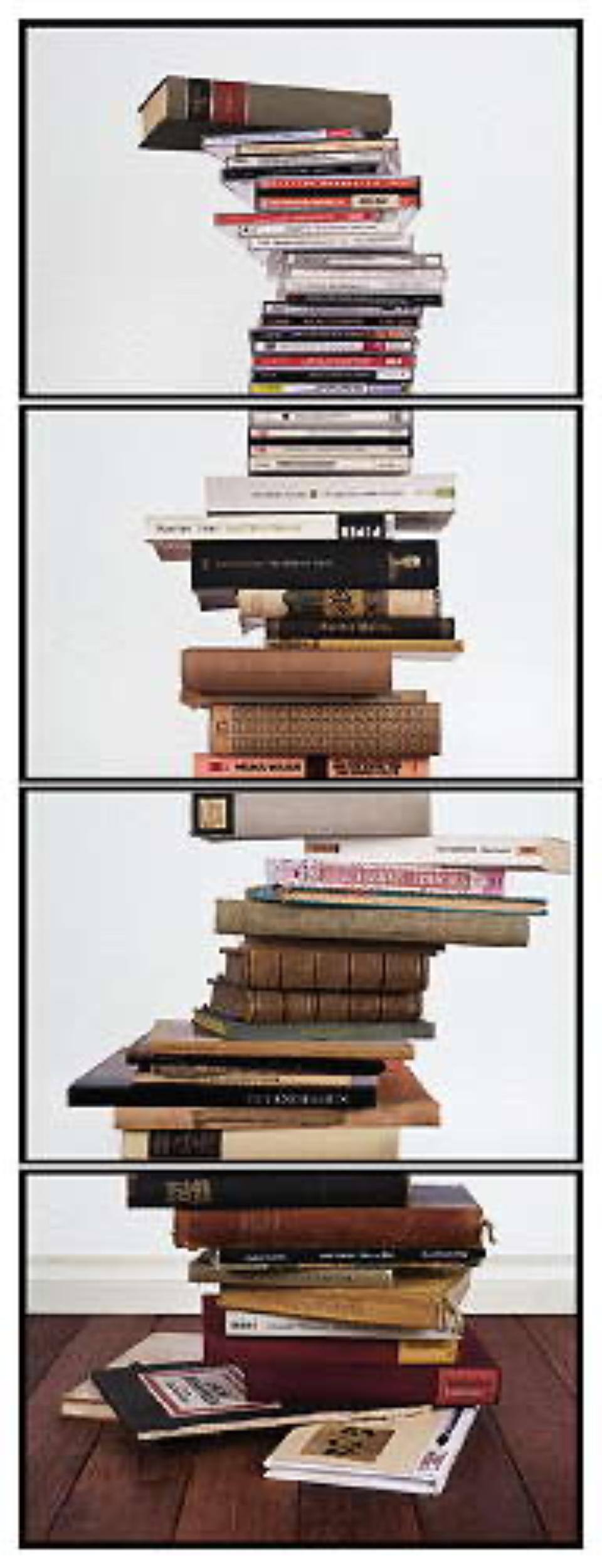 Joachim Froese: Critical Mass #6 2008 4 archival pigment inkjet prints 124 x 46 cm Ed. 12