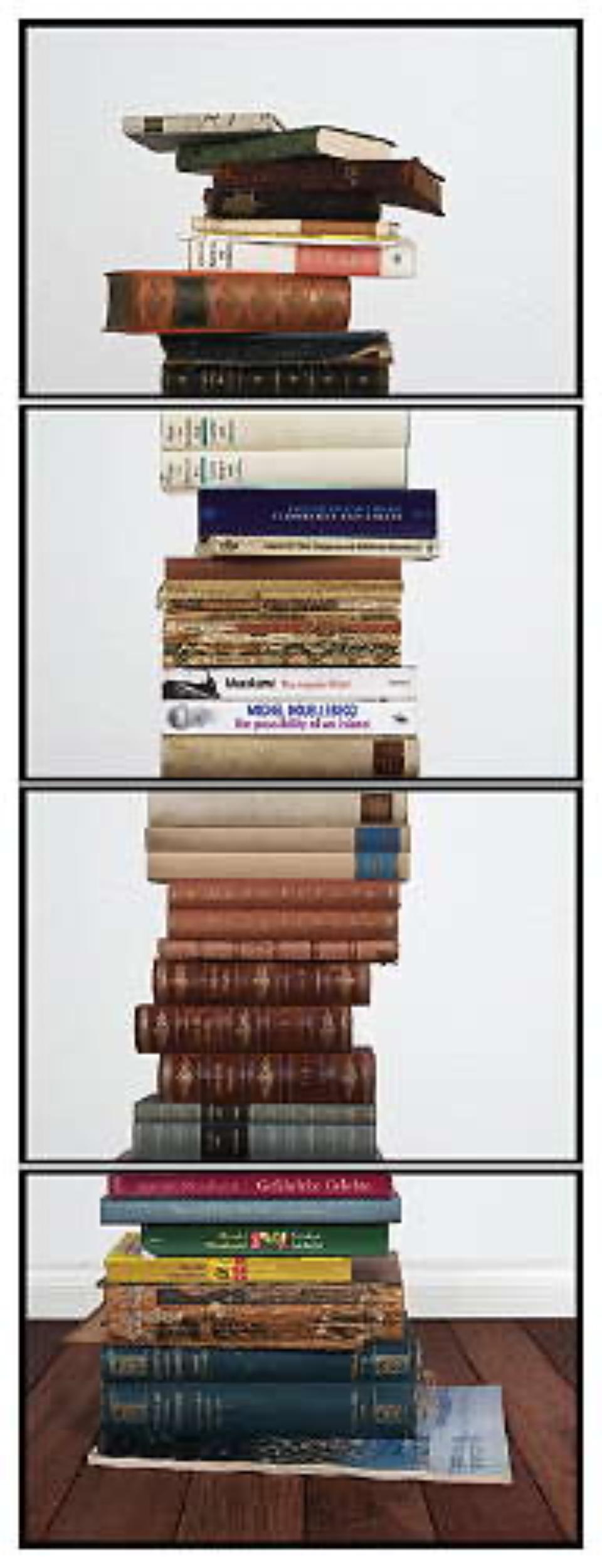Joachim Froese: Critical Mass #7 2008 4 archival pigment inkjet prints 124 x 46 cm Ed. 12