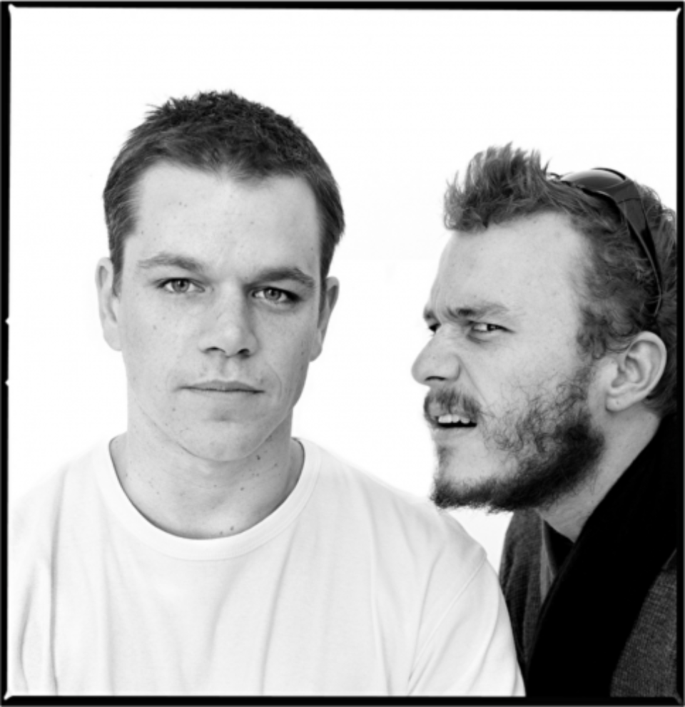 Andy Gotts: Matt Damon & Heath Ledger