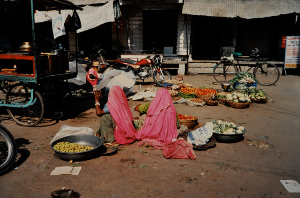 Amy Lyne: Ladies In Pink Pushka, India, 2003 C-Print Signed, titled, dated Ed. 2/25