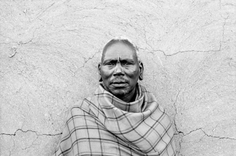 Amy Lyne: Portrait of a Man Kenya Gelatin silver print