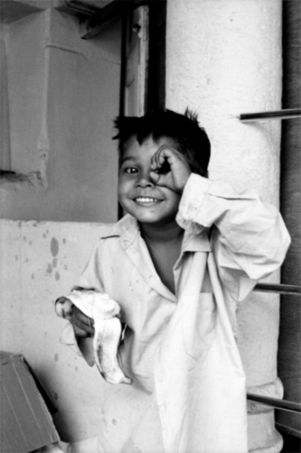 Amy Lyne: Peek-a-boo Pushkar, 2003 Gelatin Silver Print