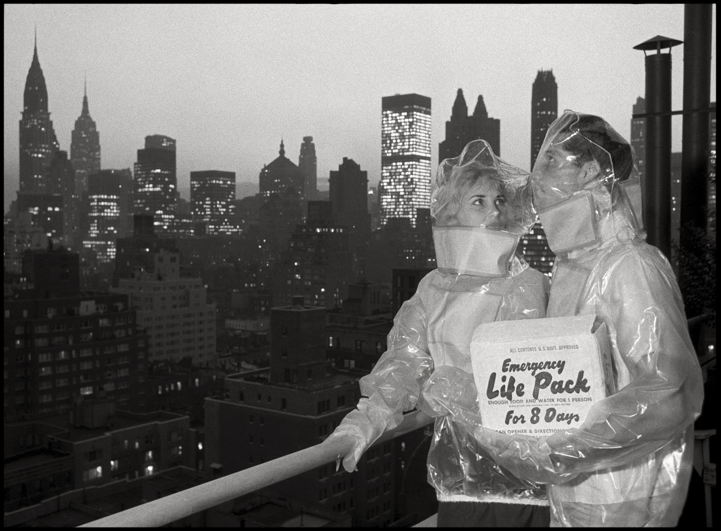 Contamination Suits for Nuclear Fall Out , New York, 1961