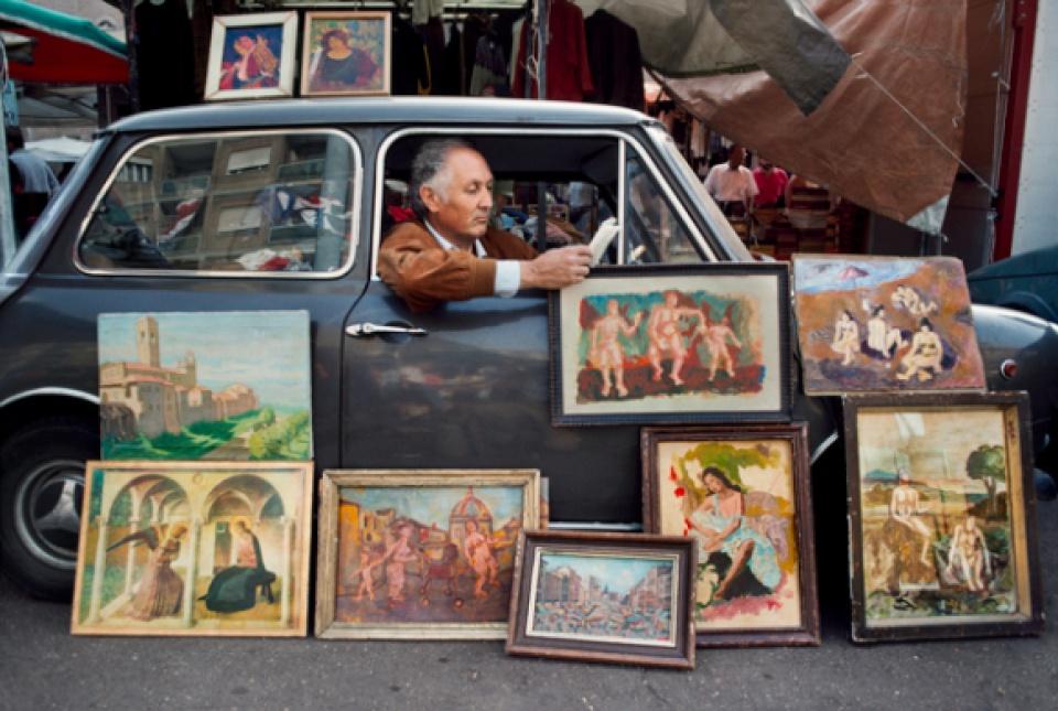Steve McCurry, Rome, Italy.