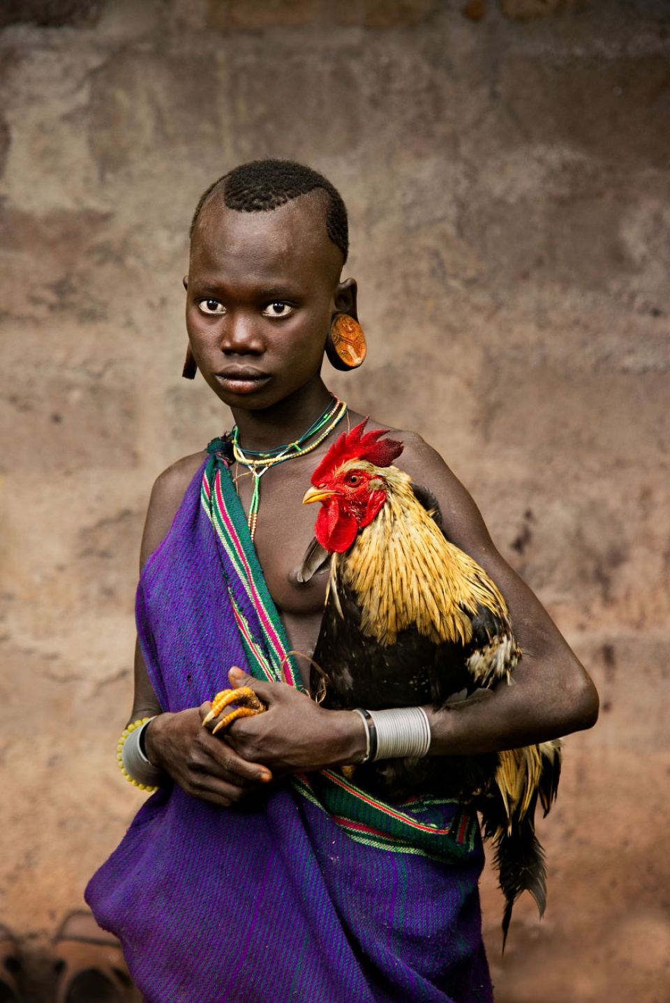 Steve McCurry. Omo Valley, Ethiopia