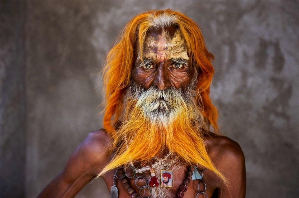 Steve McCurry. Rabari Tribal Elder Rajasthan, India, 2010