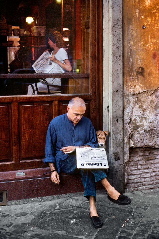 Steve McCurry. Rome, Italy