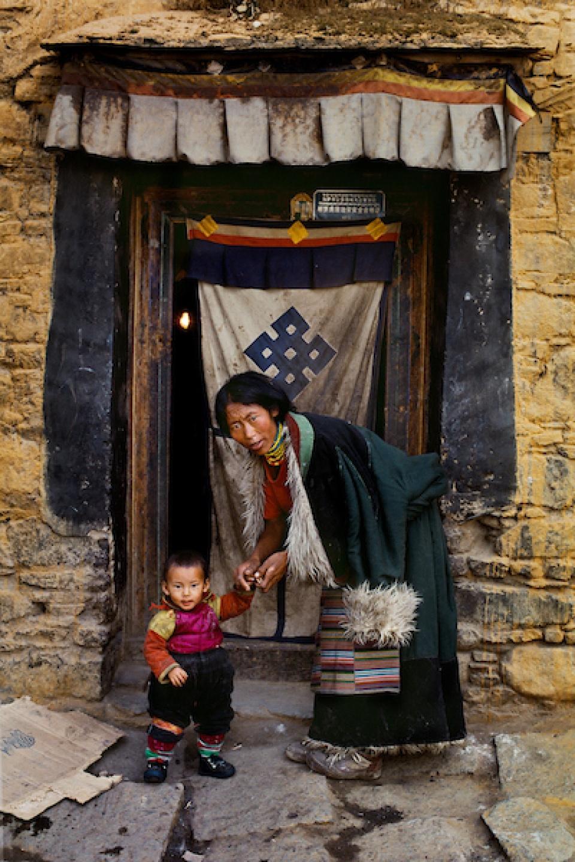 Steve McCurry. Lhasa, Tibet