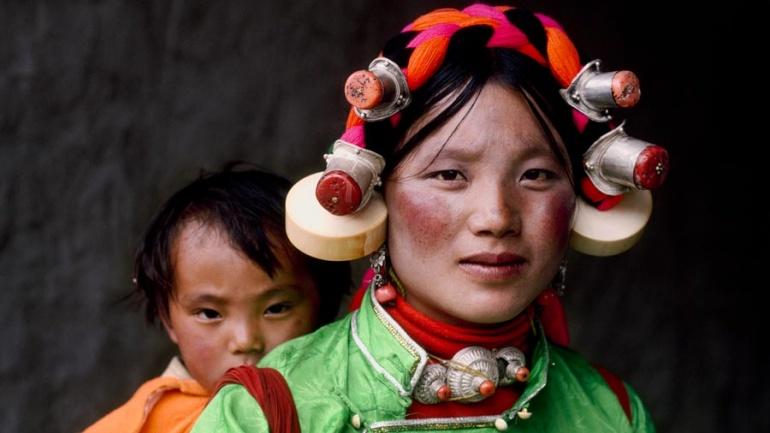 Steve McCurry. Tagong, Kham, Tibet