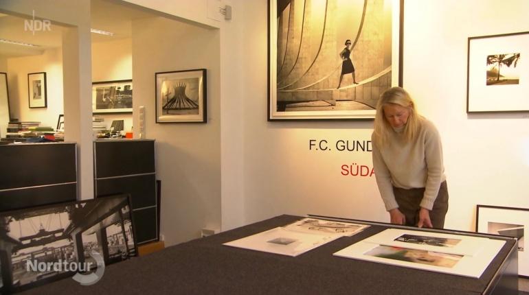 Der NDR zu Gast in der Flo Peters Gallery