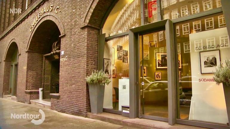Der NDR zu Gast in der Flo Peters Gallery. Screenshot