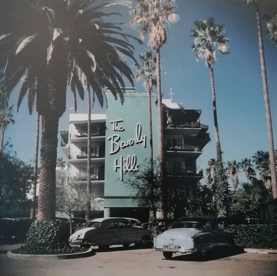 Slim Aarons. Beverly Hills Hotel on the Sunset Boulevard in California, 1957