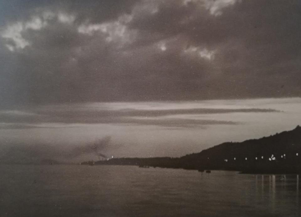 Franz Münster, Abenddämmerung, 1928