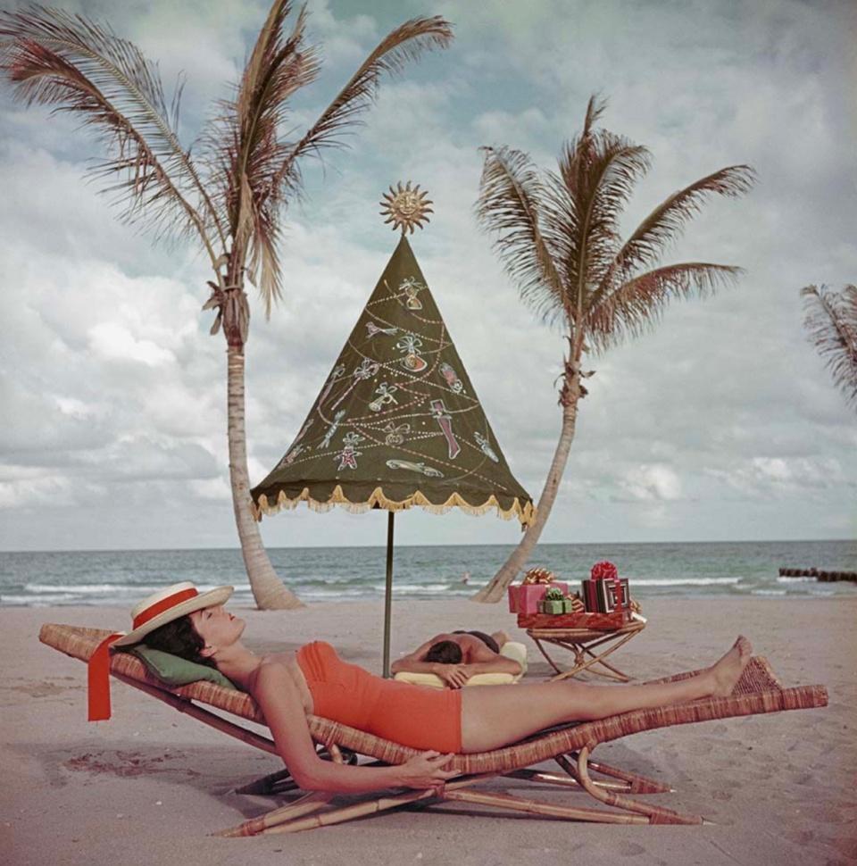 Slim Aarons. Palm Beach Idyll. Florida, 1955