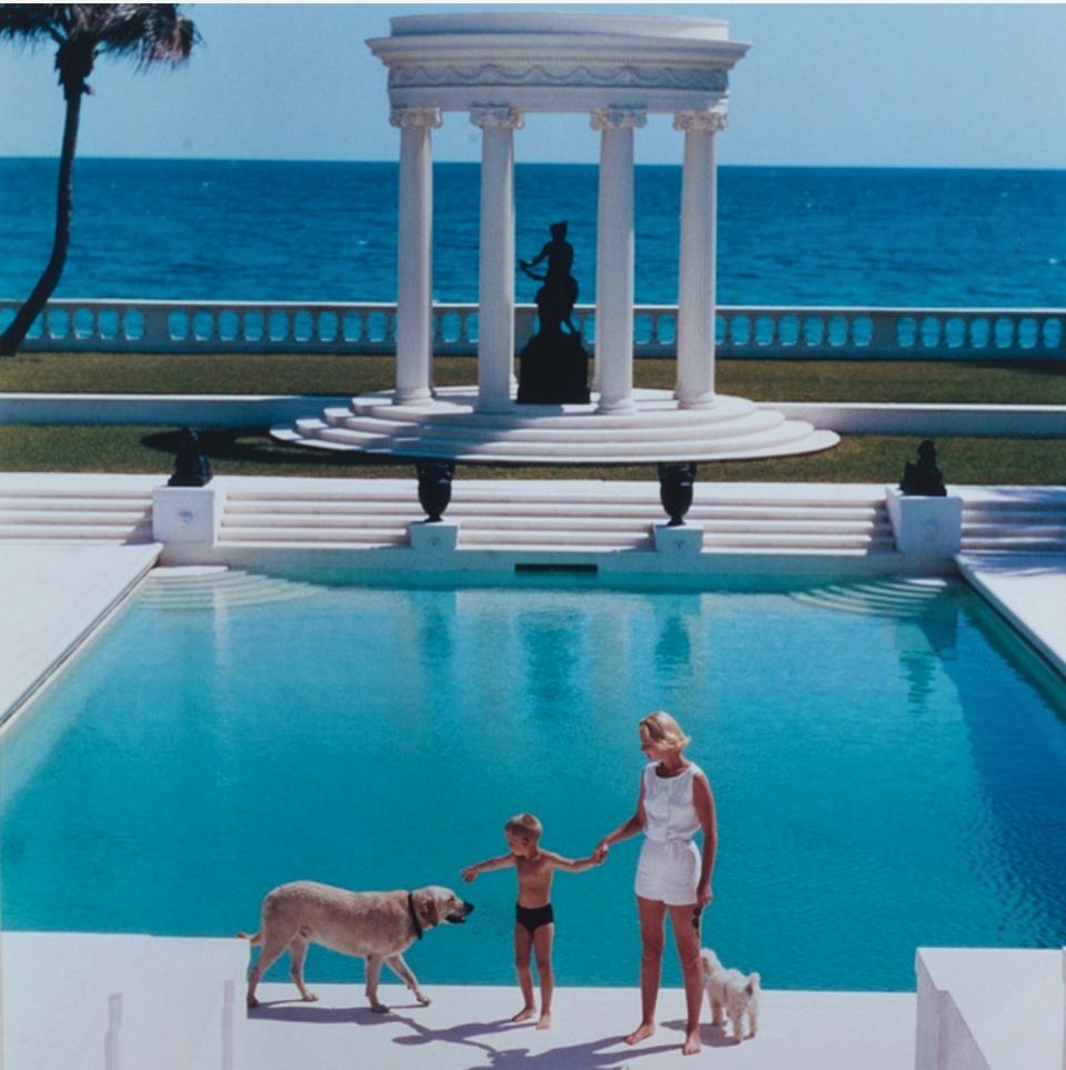 Slim Aarons. Villa Artemis in PAlm Beach, Florida, 1955