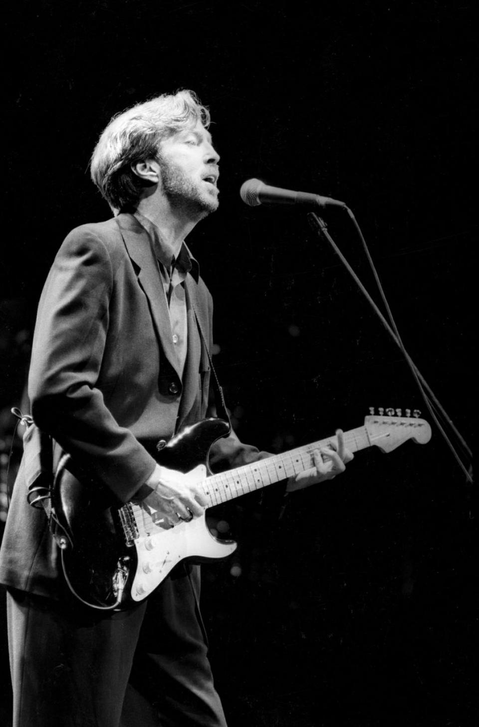 Ross Halfin. Eric Clapton. Tokyo Dome