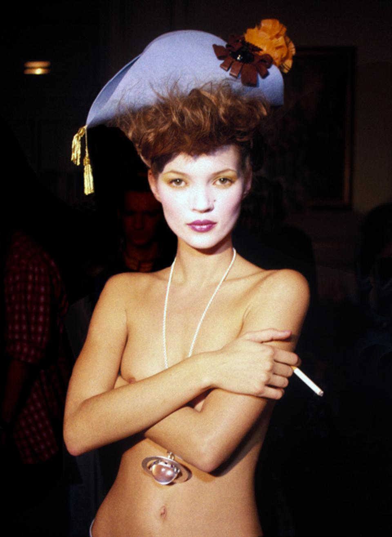 Harry Benson, Kate Moss, Alone, Paris, 1993