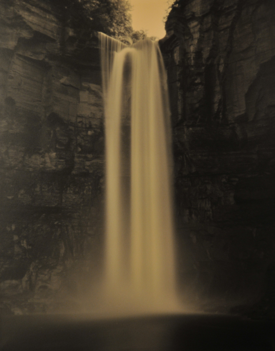 Tom Baril, Taughannock Falls 2, 2001