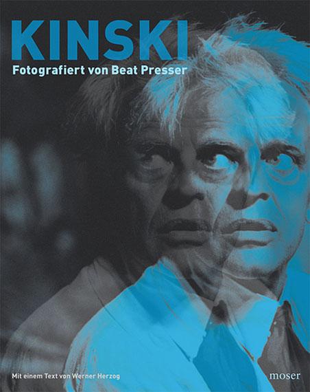 Kinski. Fotografiert von Beat Presser