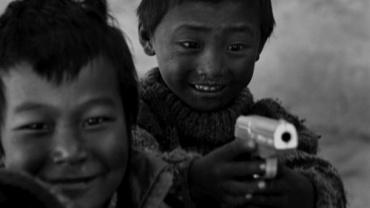 Caroline Otteni. Jungen in Jomsom. Nepal 2004