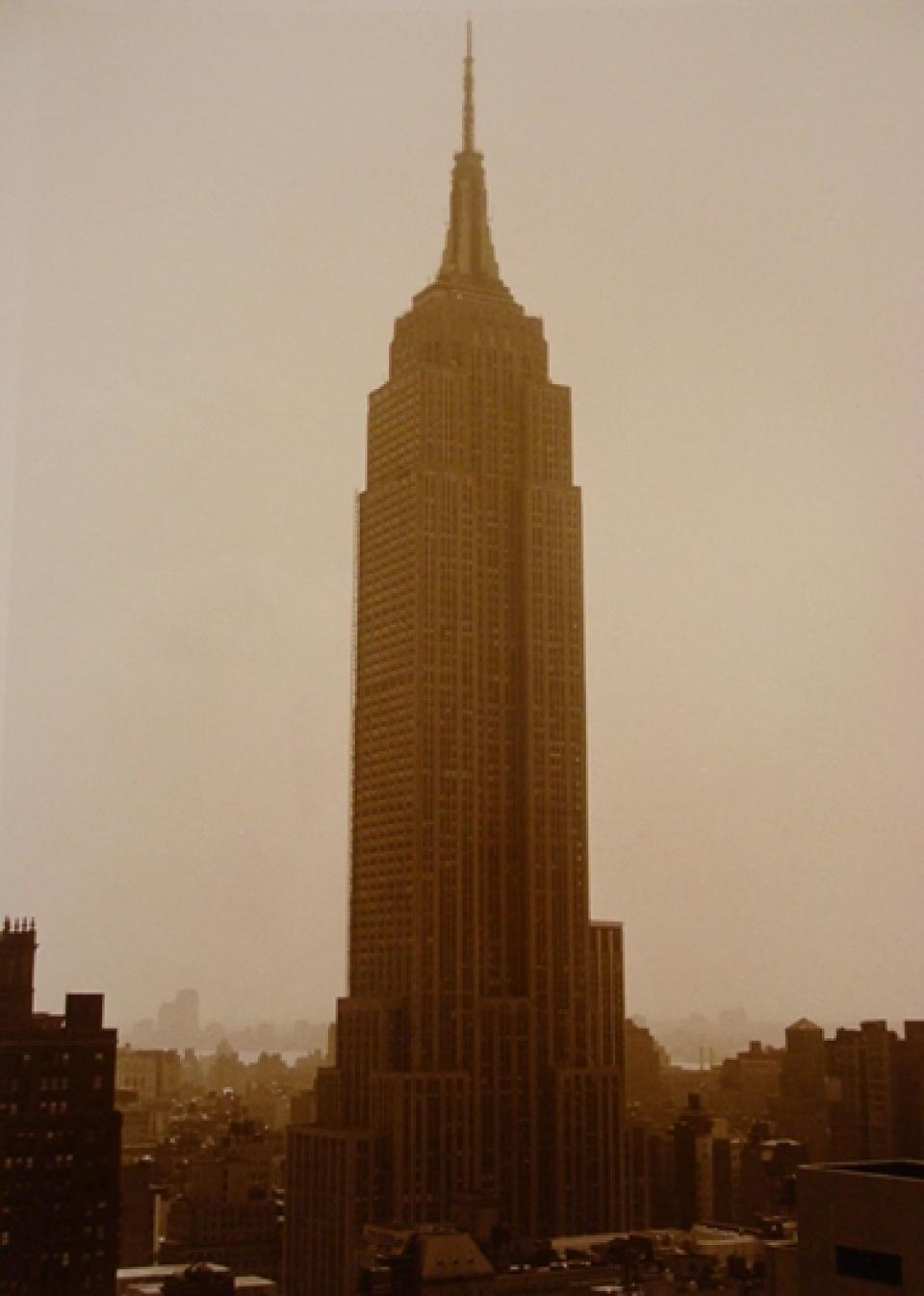 Barbara Mensch. Empire State Building