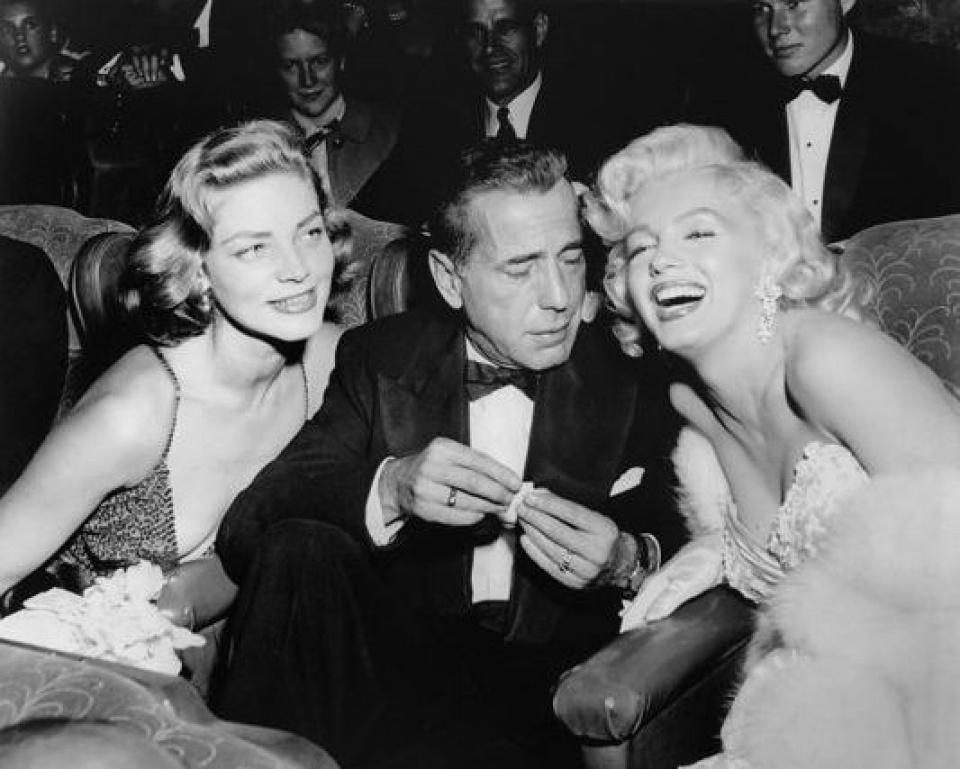 Darlene Hammond. 'Star Trio'. Los Angeles. USA. 1953