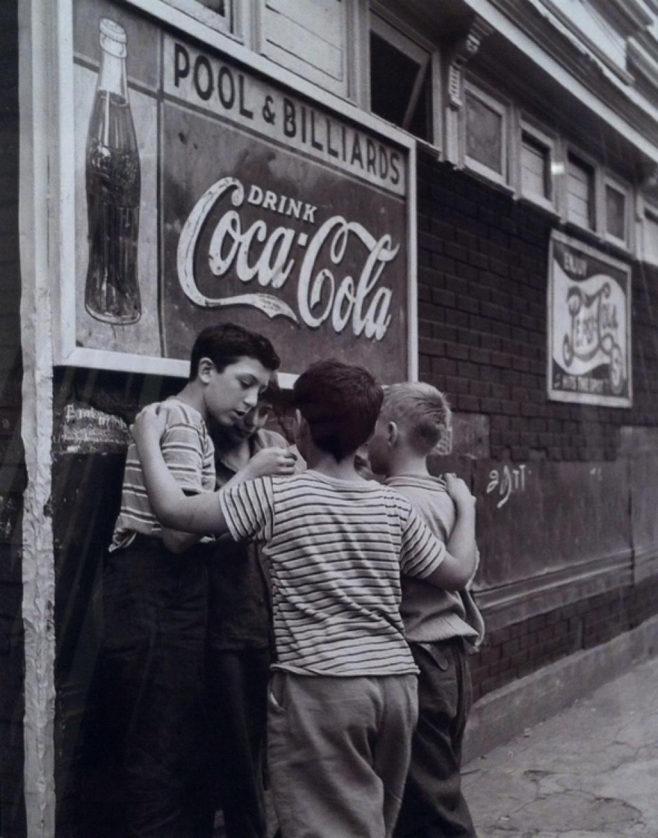 Fred Stein, Brooklyn Boys, NY, 1946