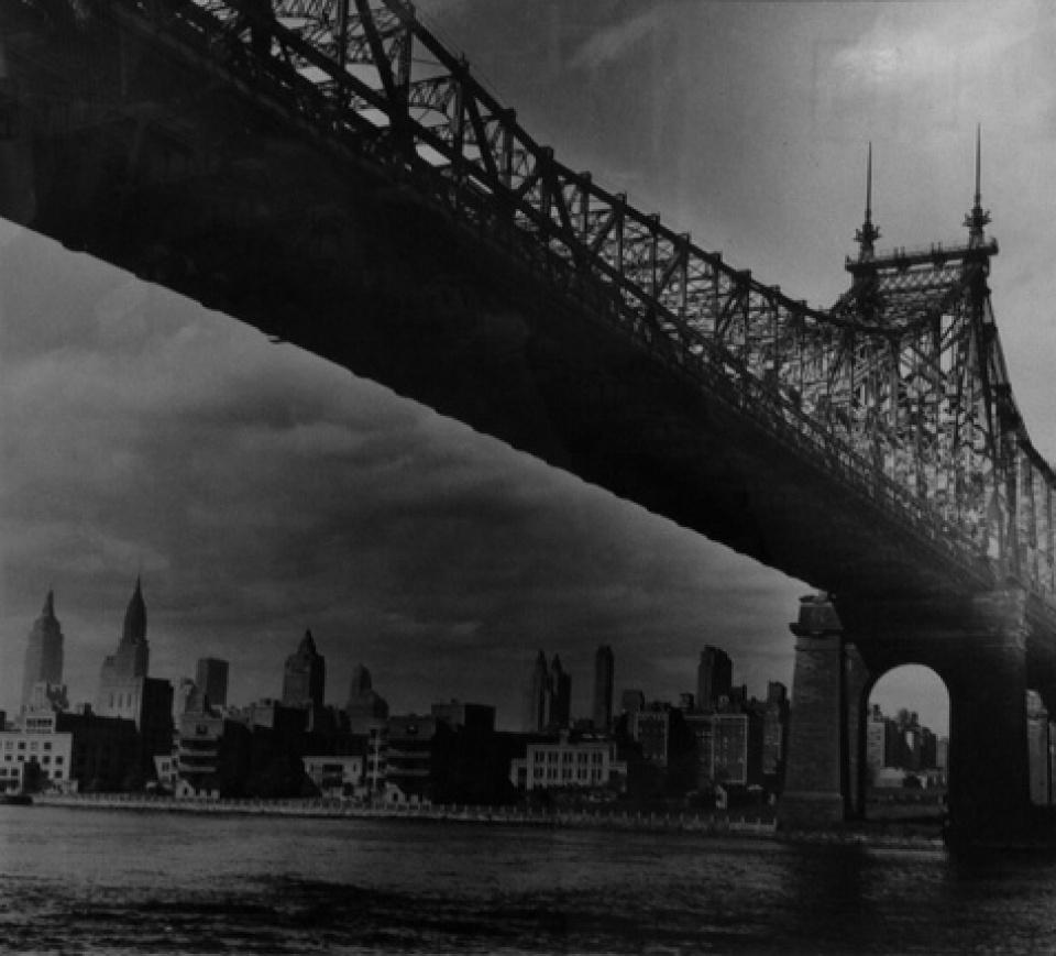 Fred Stein, Queensboro Bridge, NY, 1942