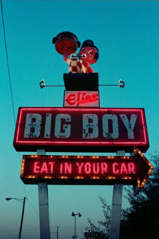 Götz Müller. Big Boy, California, 1972 Modern print on Canson Baryta Signed Ed. 25