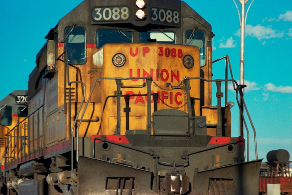Union Pacific Modern print on Canson Baryta Signed Ed. 12