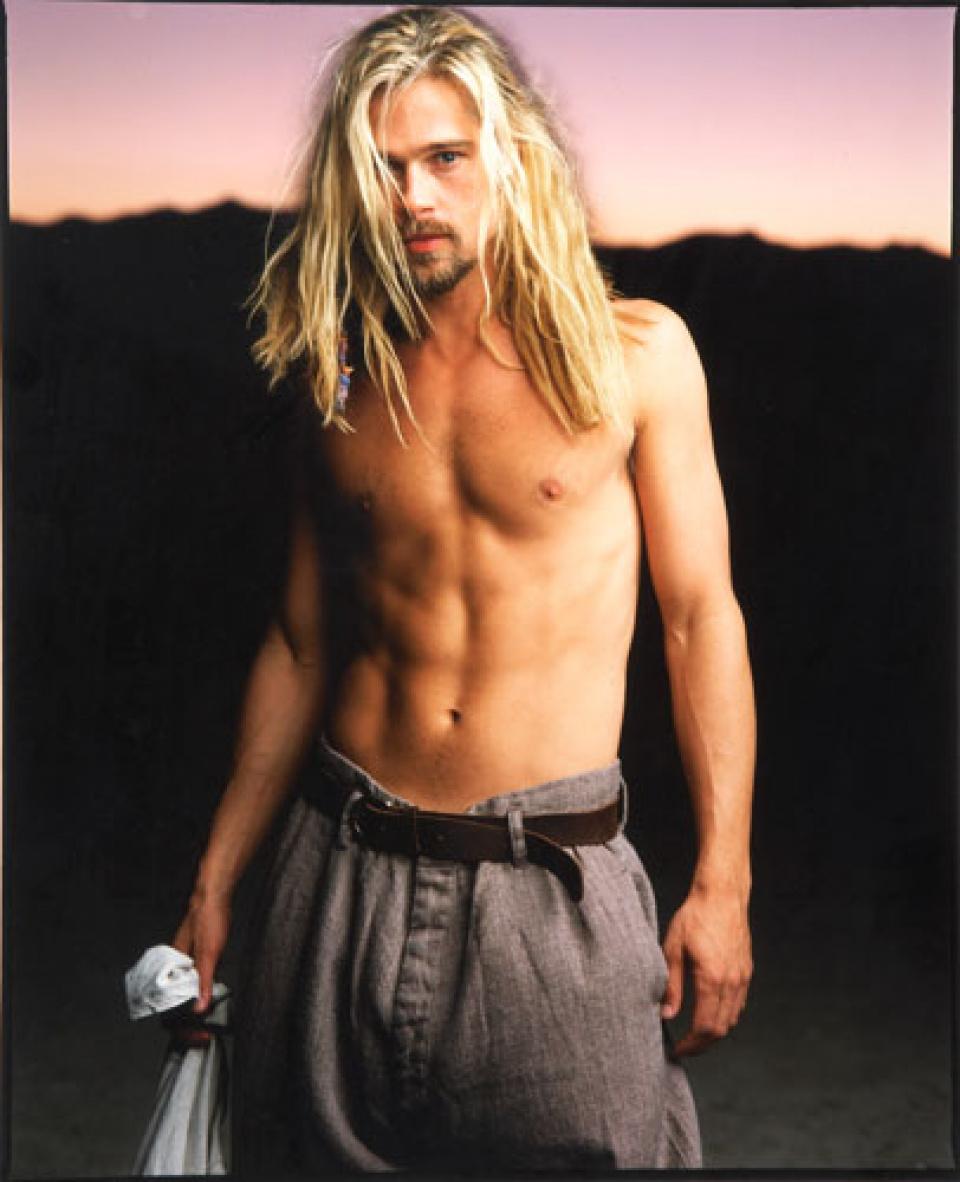 Mark Seliger. 'Brad Pitt'. Mexicali, Mexico, 1994