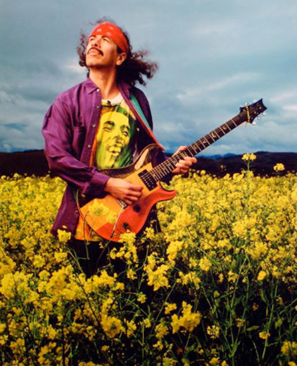 Mark Seliger. 'Carlos Santana'. San Francisco, CA, 1992