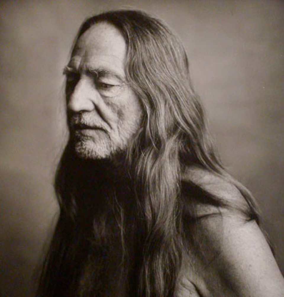 Mark Seliger. 'Willie Nelson', NYC, 1995