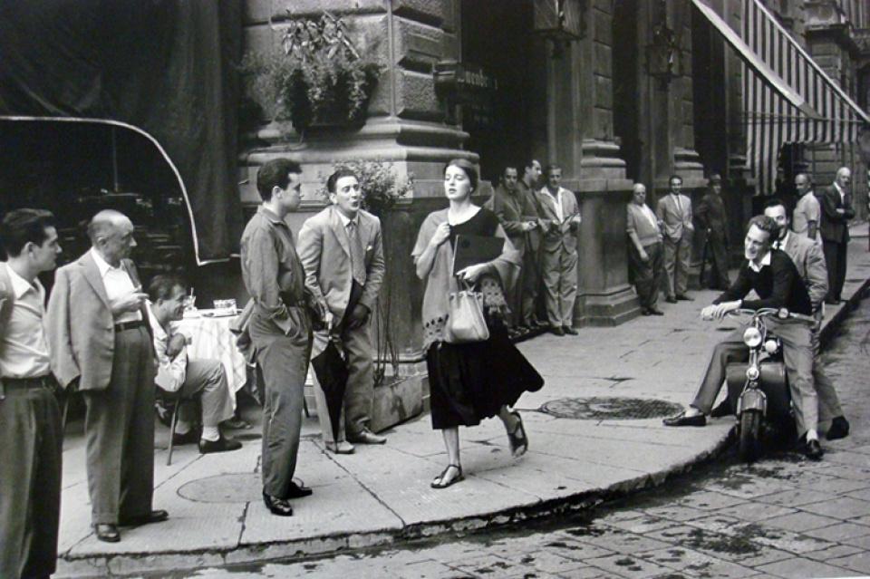Ruth Orkin. American Girl in Italy