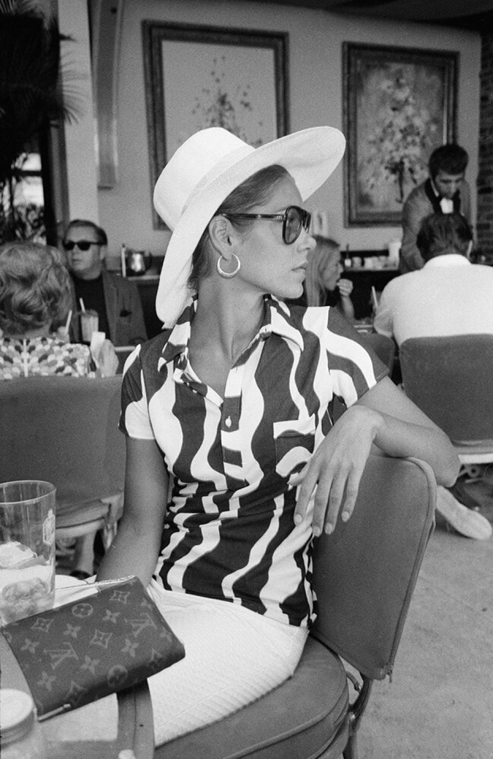 Slim Aarons 'Palm Bay Club', Miami, 1965