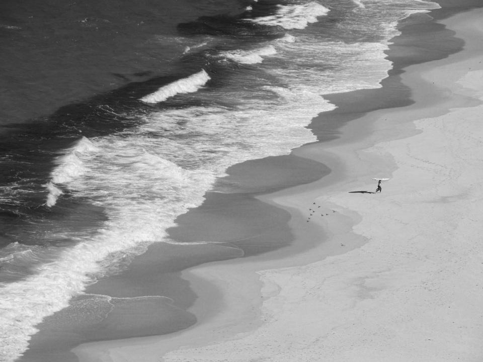 Karin von Oldershausen. Strand, Albany