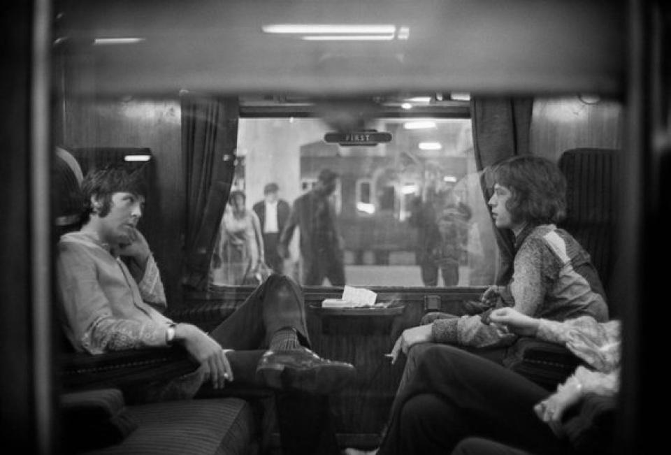 Victor Blackman. 'First Class Travel', Euston Station, London, 1967